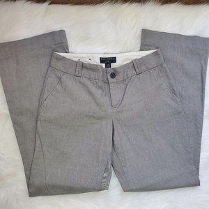BANANA REPUBLIC Size 4 Gray Dress Pants MARTIN